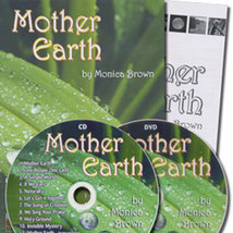 MOTHER EARTH CD, DVD & PRAYER RITUALS by Monica Brown image 2