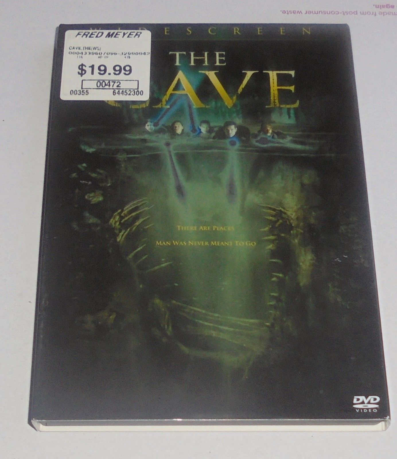 The Cave (DVD, 2006, Widescreen Edition) Horror Movie