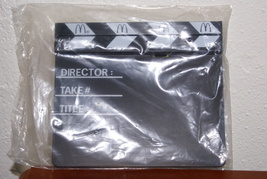 Makin' Movies Clapboard With Chalk MIP Happy Meal Toy (McDonald's) - $5.00
