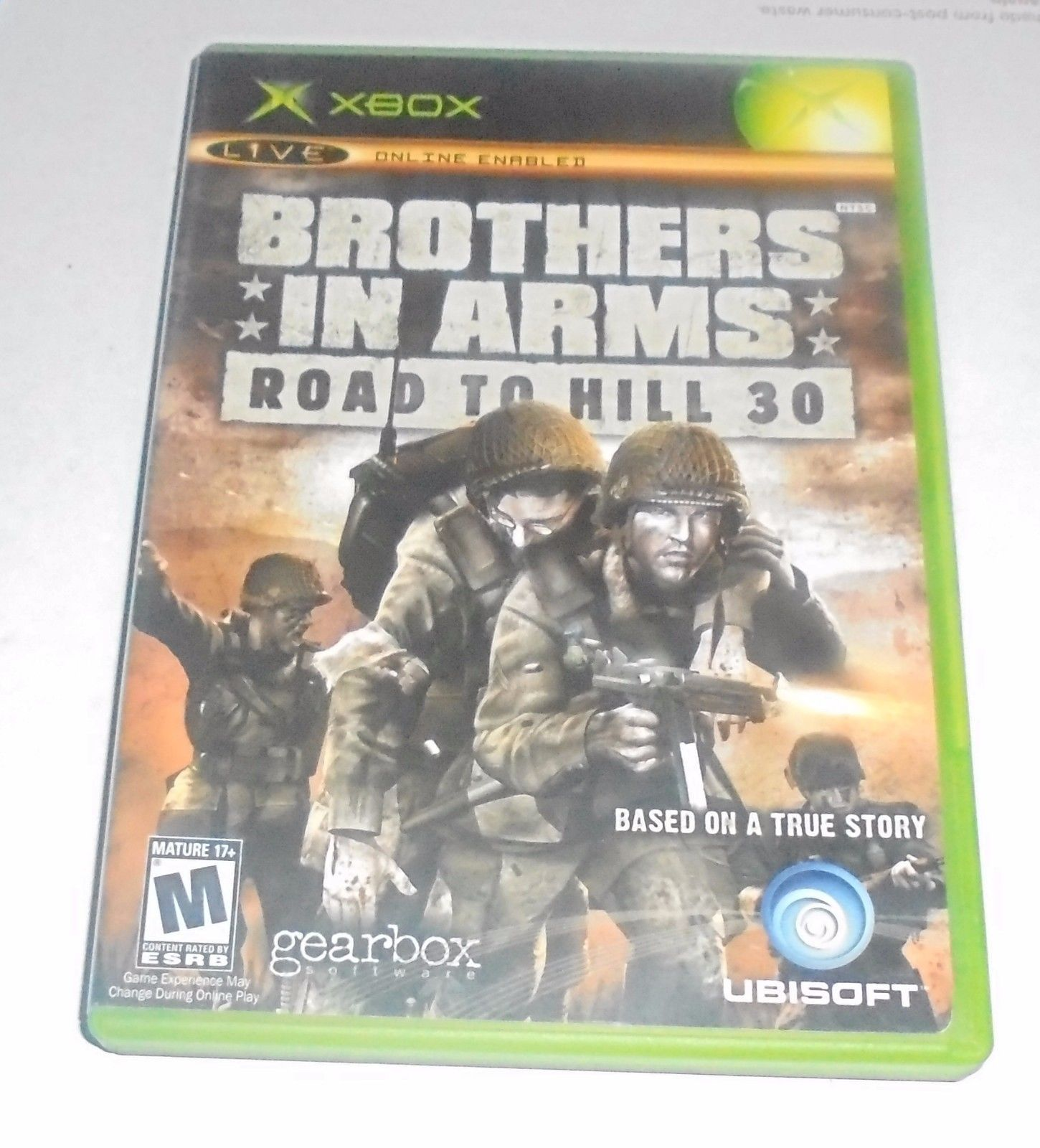 Brothers in Arms: Road to Hill 30 (Original Microsoft Xbox, 2005) Complete
