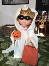 Santa's Best Halloween Kids Animated Collectible Trick or Treat Ghost w ... - $19.99