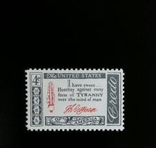 1960 4c Thomas Jefferson Credo, Tyranny Scott 1141 Mint F/VF NH - $0.99