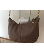 Beautiful Women Embossed Leather Double Zipper 3 Compactment Hobo Should... - $24.74