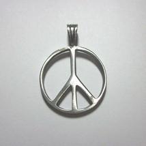 Fashion Men Jewelry Pendants Ciondolo Anhänger Pewter سلام Peace Symbol ... - $5.00