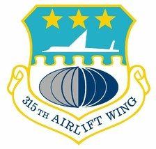 315th Airlift Wing Sticker Military Decal M424 - $1.45 - $9.45