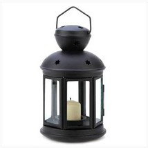 Black Colonial Candle Lamp - $14.46