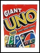 Giant Uno Game Family Fun Game Kids & Adults  Jumbo Cards - $30.86