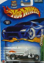 Hot Wheels - 2002 - Silver Rigor Motor - #101 - $2.50