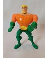 "McDonald's DC Comics Aquaman Action Figure 3.75"" With Moving Arms 2010 - $7.91"