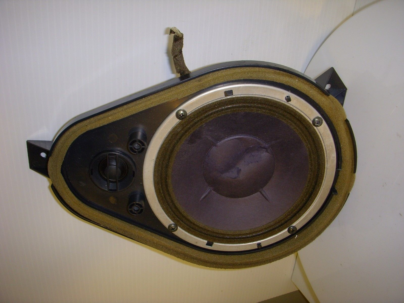 Volkswagen VW CABRIO 1999 Speaker w/ Mount Rear Driver OEM