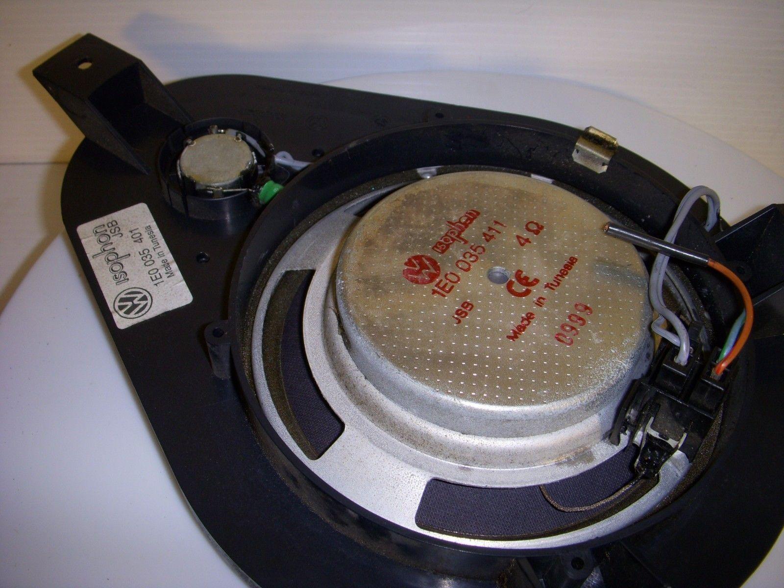 Volkswagen VW CABRIO 1999 Speaker Dash Rear Passenger RH OEM