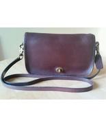 Vintage Genuine COACH Shoulder Purse 7870 w Hang Tag Brown - $63.10
