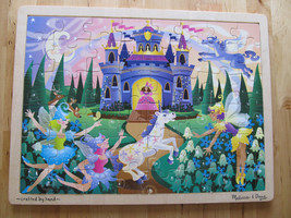 Melissa & Doug Fairy Fantasy Wooden Puzzle Princess Castle Jigsaw - $11.95