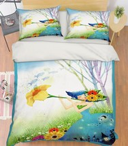 3D Nice Girl 121 Bed Pillowcases Quilt Duvet Cover Set Single Queen King Size AU - $64.32+