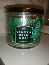 Bath and Body Works 3 Wick Candle Seasonal Holiday 14.5 oz Vanilla Bean ... - $23.75