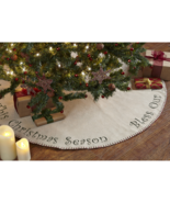 """Bless Our Home Christmas Tree Skirt 48"""" D - $49.49"""