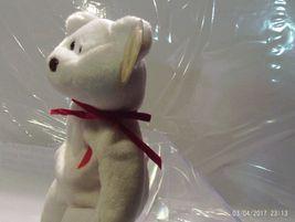 Ty Beanie Babies Valentino the White bear image 3