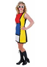 60's / 70's POP ART GoGo Dress   - sizes 6 - 22 , Warhol - $32.55