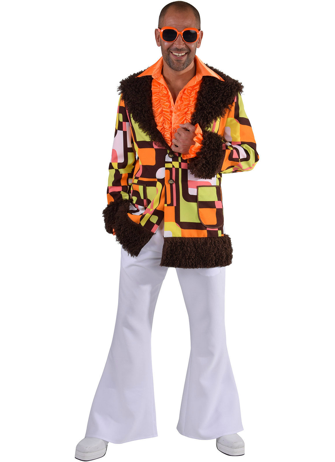 Primary image for Retro , Fur Trim  Hippy/Pimp Jacket