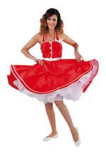 50's Red Rock & Roll  Jive Dress + Belt , sizes 6-22 - $37.54