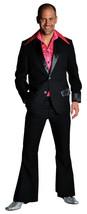 """70's Deluxe BLACK  Pimp / Disco Suit , sizes 38-50"""" chest  - $47.24+"""