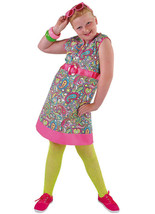 Girls - 60's / 70's Happy Hippy Dress  - ages 5 to 14 - $29.17