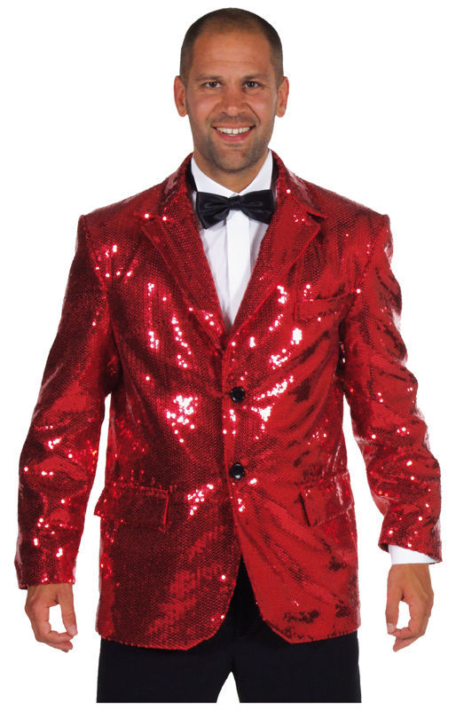 Primary image for Deluxe RED  Sequinned Showman / Cabaret  Jackets