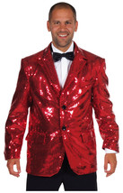 Deluxe RED  Sequinned Showman / Cabaret  Jackets - $118.45