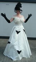 Halloween Monster Bride , Batty Bride Wedding Dress   - size 6 - $157.81