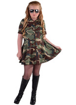 GIRLS  - Army / Soldier  Girl  - ages 3 to 14 - $31.85
