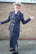 1920's Ladies Gangster Suit + Hat - size 12 - $36.82
