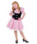 GIRLS  - Heidi , Austrian , Oktoberfest - ages 3 to 14  Pink Check - $27.41+
