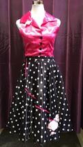 1950's Rock 'n' Roll Poodle Dress 10/12 - $35.79