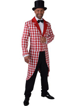 Red  / White Checked Tailcoat  Gents  - $34.99