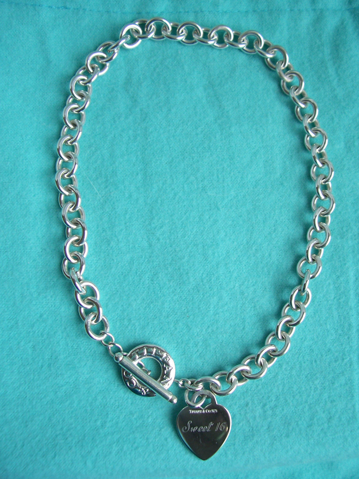 Custom Quot Sweet 16 Quot Tiffany Amp Co Sterling Silver Heart