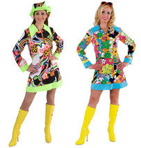 60's / 70's Bright / Colorful Soul Sister Hippy dress - $28.34+
