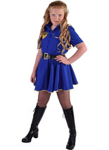 GIRLS  - Blue Police Girl  - ages 3 to 14 - $40.66