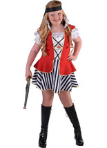 Girls -  Captain Hook Pirate  Costume   - ages 3 to 14   - $32.51