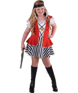 Girls -  Captain Hook Pirate  Costume   - ages 3 to 14   - $31.18