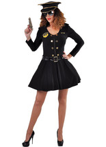 Policewoman  Costume - USA style Cop   , sizes 6-22  - $47.72