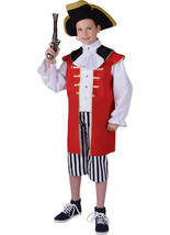 Boys  -  Captain Hook Pirate  Costume   - ages 3 to 14   - $36.27