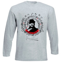 Giacomo Puccini - New Cotton Grey Tshirt - $27.10