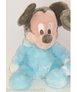 Disney Mickey Mouse Plush Toy Rattle Blue Baby ... - $39.95