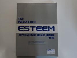 1998 Suzuki Esteem 1600 Supplementary Service Repair Shop Manual FACTORY... - $108.90