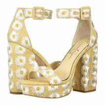 Jessica Simpson Women's CAIYA3 Sandal, White Combo, 8 M US - $41.97