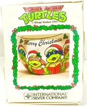 Teenage Mutant Ninja Turtles Caroling Christmas Holiday Ornament - Damag... - £9.99 GBP