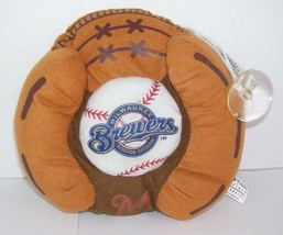 Milwaukee Brewers Plush Glove Window Cling Hang Officially Licensed MLB - $10.88