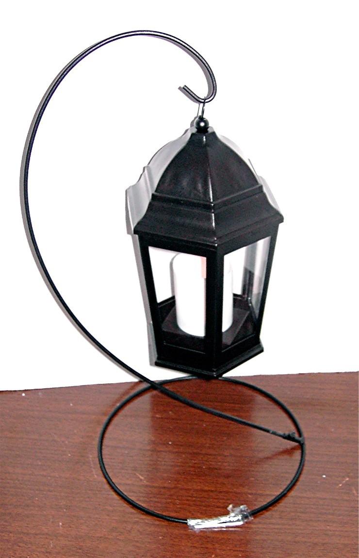 Garden Lantern - Flickering Candle - Lanterns, Strings