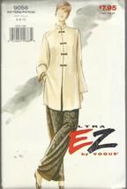 VOGUE PATTERN-ULTRA EZ #9056-Misses Tunic & Pan... - $4.95
