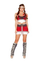 Roma Lusty Tribal Temptress Native American Indian Costume W/WO EXTRAS S... - $63.00+